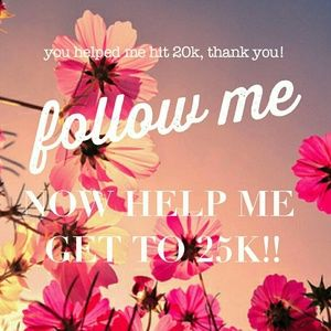 Like,follow, and share! I'll follow you in return!
