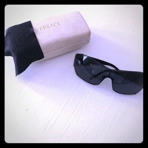 All black Versace sunglasses