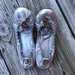 Tory Burch Tassel Ballet Flats