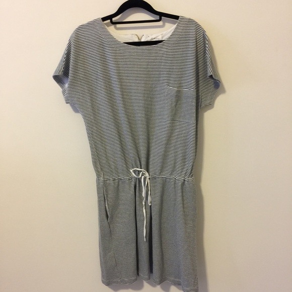 eae731d6440d Lou   Grey Dresses   Skirts - Lou   Grey Gray White Striped Pocketed Dress