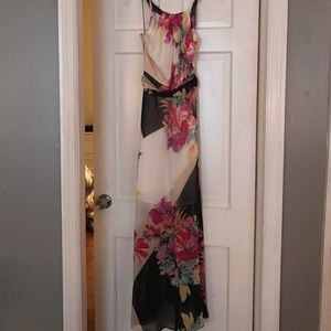 Muse Full Length Floral Dress 2