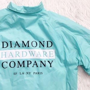 Diamond Supply Co. Jackets & Blazers - • Diamond Supply • Oversized Windbreaker