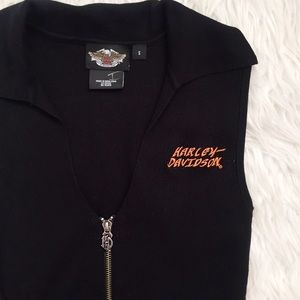 Harley-Davidson Tops - • Harley Davidson • Long Black Tank