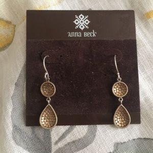 Anna Beck Jewelry - Anna Beck gold drop earrings
