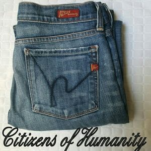 Citizens of Humanity Denim - Citizens of Humanity Kelly low waist bootcut Jeans