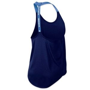 Nike Elastika Tank Top, Medium, Royal Blue