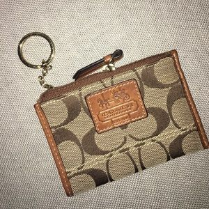 Authentic coach coin purse