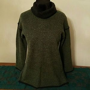 Vintage Lecomte Funnel Neck Sweater