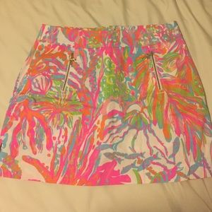 Lilly Pulitzer Scuba to Cuba skort size 4