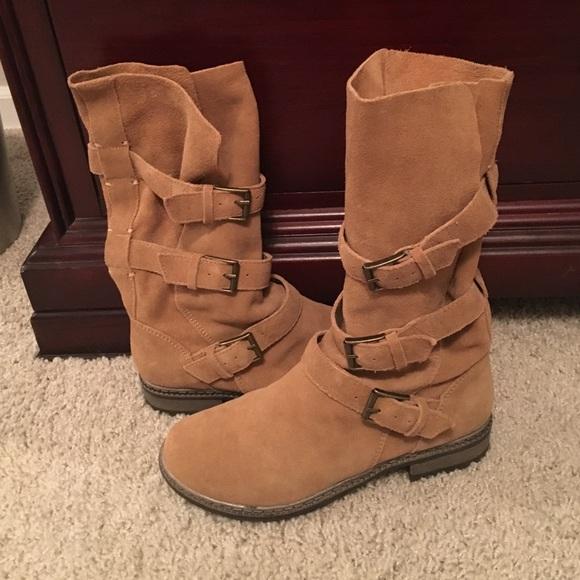 American Eagle Suede Boots   Poshmark