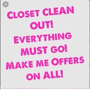 Other - Closet Clean Out! Make me an Offer!