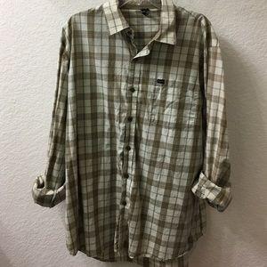 RVCA button up shirt
