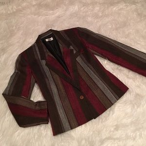 lucia Jackets & Blazers - Vintage Brown Blazer | size 14