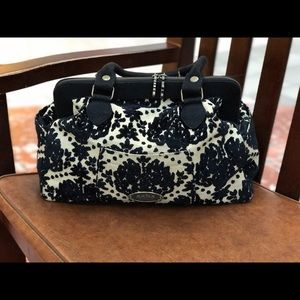 Petunia Pickle Bottom Handbags - {PPB} Black Licorice Pudding Cosmo Carryall