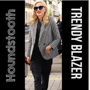 Koret Jackets & Blazers - Trendy Houndstooth Blazer. Size 14