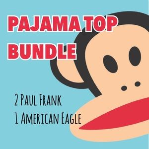 Paul Frank Other - [Paul Frank] + [AE] Pajama Top Bundle - XS/S