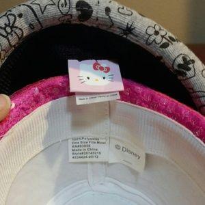 6320f932e Accessories | Girlswomen Hello Kitty Disney Sequin Fedoras | Poshmark