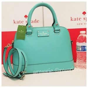 New Kate Spade Rachelle leather Domed Satchel