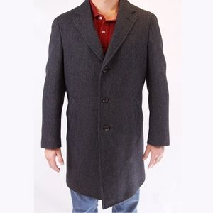 Canali Other - Canali Kei Collection Men's 100% Wool Coat  54R