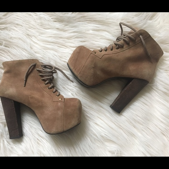 60 off jeffrey campbell shoes jeffrey campbell lita platform ankle boots size 7 from mom of 39 s. Black Bedroom Furniture Sets. Home Design Ideas