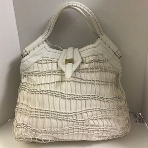 New Botkier Woven canvas leather XL tote