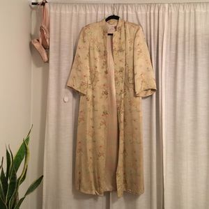 Vintage gold Chinese robe