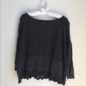 Ecote urban outfitter black top