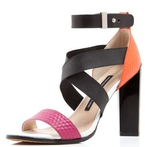 French Connection Melody Multicolored Sandals