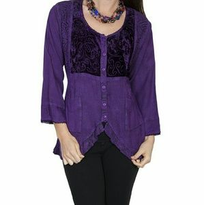 Scully Tops - BEAUTIFUL NWT BLOUSE