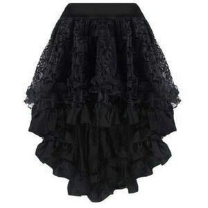 Black Corset Skirt