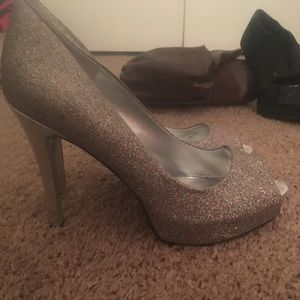 Guess open toe heels