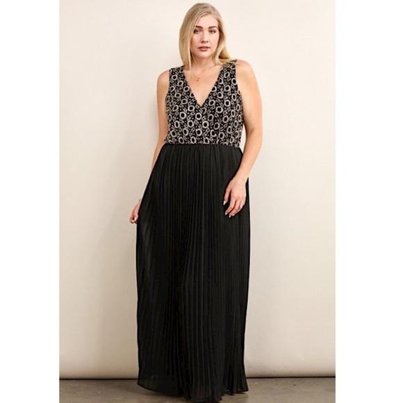 SALE - Plus Size Formal Maxi Dress Boutique