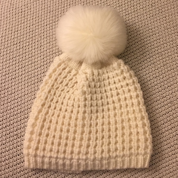6cbf5130868c8 Nordstrom Kyi Kyi Canada Ivory Pom Pom Hat OS. M 58269d137f0a05a50f01b88a.  Other Accessories ...