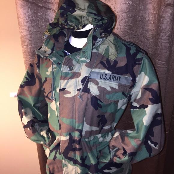 f316d87b5fdd9 military Jackets & Coats | Vintage Authentic Coat 80s Era | Poshmark