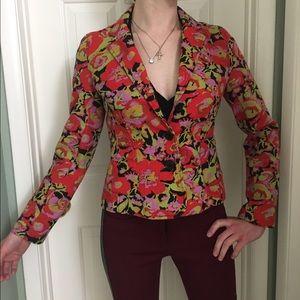 Isaac Mizrahi Jackets & Blazers - 🎉HP🎉Isaac Mizrahi Floral Blazer