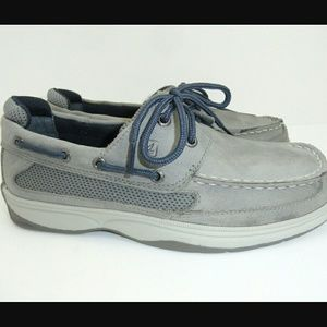 Sperry Top-Sider Other - BLOW OUT SALE Gray blue boys sperrys