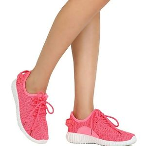 Starlight footwear  Shoes - 👄Neon Hot Pink Running Shoes