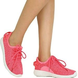 Starlight footwear  Shoes - 💋Neon Hot Pink Running Shoes
