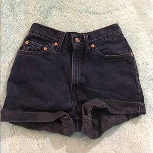 Pants - Levi's High Waisted Shorts