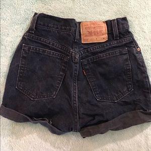 Shorts - Levi's High Waisted Shorts
