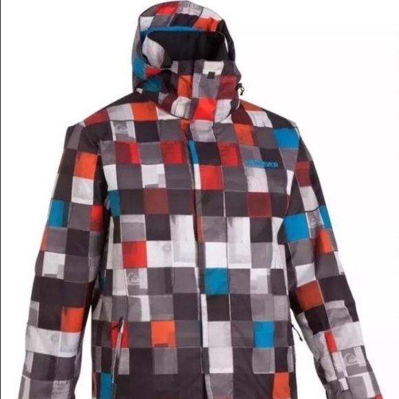 91db787cbb3 Mens QuikSilver Snow Jacket Mission 10K Insulated