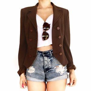 MaxMara Jackets & Blazers - Max Mara brown blazer