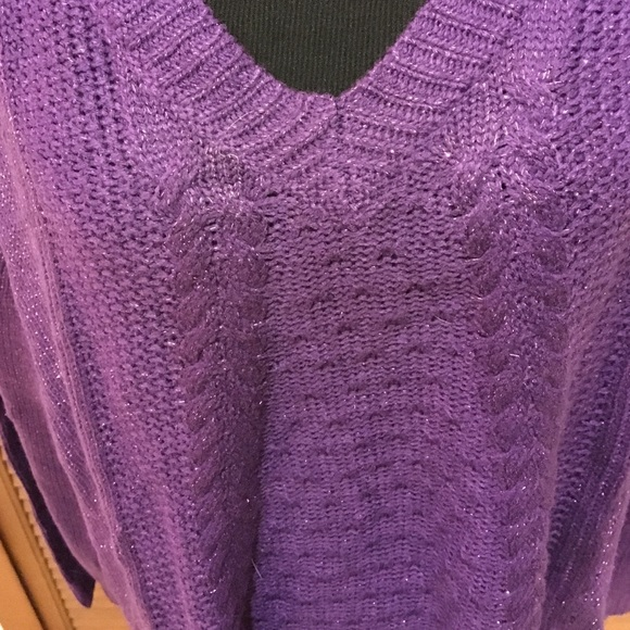 41% off Faded Glory Sweaters - NWT Faded Glory Plus size 3X purple ...