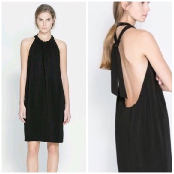 Backless Halter Dress