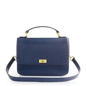 J. Crew Handbags - NWT J.Crew Edie Purse Navy