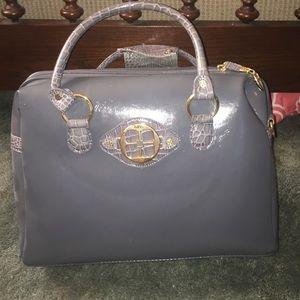 Imanimo Handbags - Grey travel bag