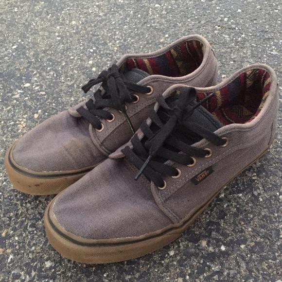 9c871833c96ce Vans Chukka Low Hemp Grey Gum Sneaker