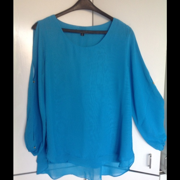 Blouse With Open Sleeves 88