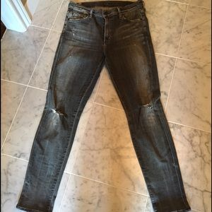 Citizens of Humanity Denim - Citizens of Humanity Rocket Distressed Jeans