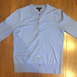 J. Crew Cotton Jackie Cardigan Sweater